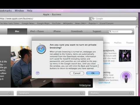 Apple Quick Tips: Private Web Browsing