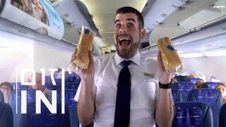 נוסעים עירומים וחיתולים מלוכלכים: הדייל שלא מפחד מטיסות שוקולד | זום אין