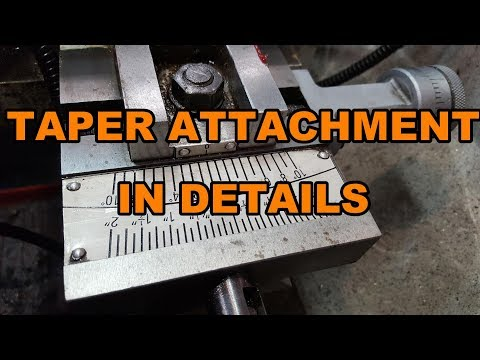 Taper attachment details, how it's made, functional details... and more!