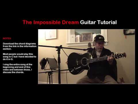 The Impossible Dream Guitar Tutorial
