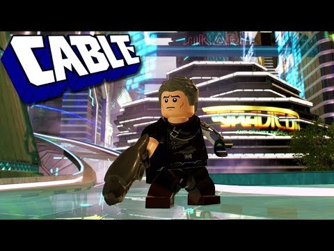 LEGO Marvel Super Heroes 2 Cable (Deadpool 2 Josh Brolin Movie Version) Custom Character Gameplay