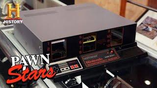 Pawn Stars: SUPER RARE Nintendo Demo System is a HIGH SCORE FIND (Season 18) | History