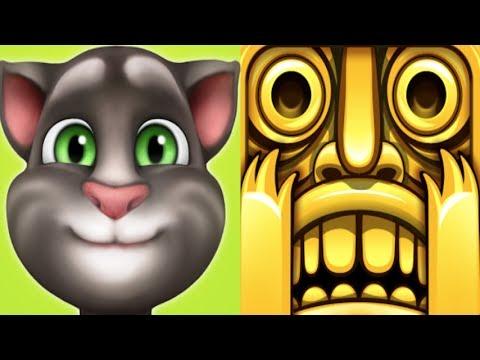 My Talking Tom level 997 Vs.Temple Run*iPadGameplay make for children #162