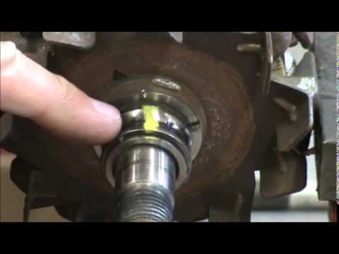 How to cut a bearing off using a Dremel