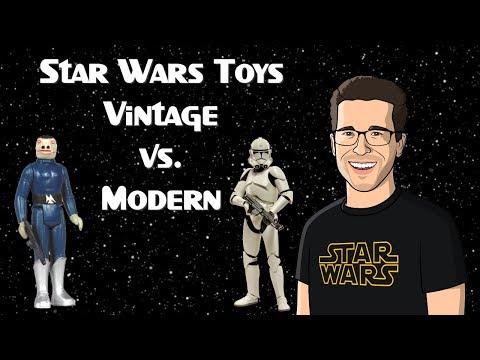 Vintage vs Modern Star Wars Toys?