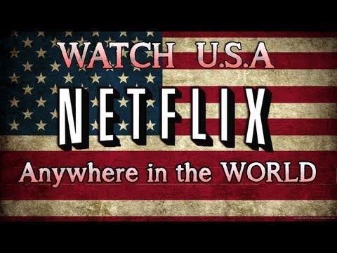 Watch USA Netflix and Hulu Anywhere in the World [2013]