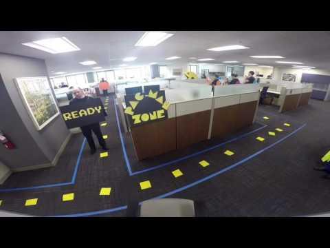 Pacman Halloween 2016 Office