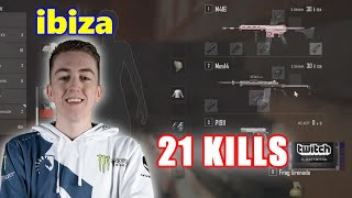Team Liquid ibiza - 21 KILLS -  M416 + Mini14 - Archive Games - PUBG