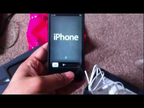 unboxing an iphone 5