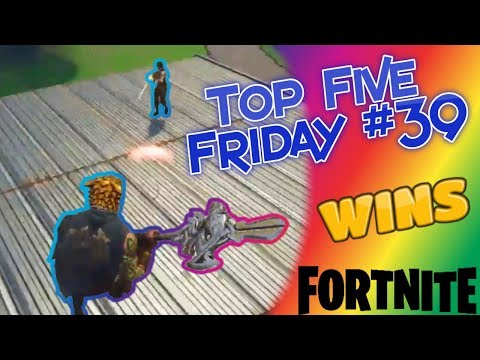 Top Five Friday #39 (WINS) Fortnite