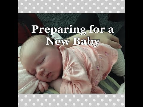 HOW I PREPARE FOR A NEW BABY | Meal Prep, Preparing Family, Hospital Bag