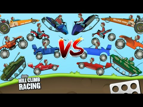 New Graphics Vs OLD Graphics   Hill Climb Racing 1.37.0