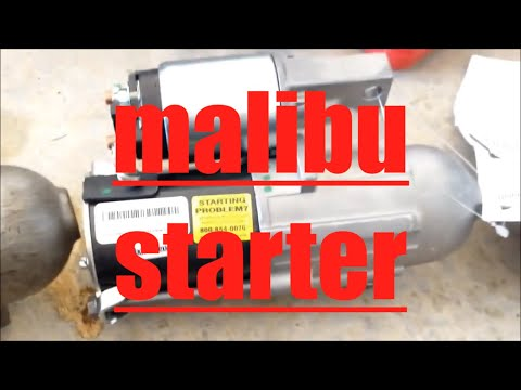 How to replace starter motor Chevrolet Malibu √