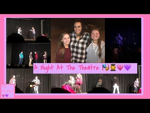 A Night At The Theatre 🎭: Visiting My Alumni High School 👩‍🎓 Allie Elizabeth 💗💜