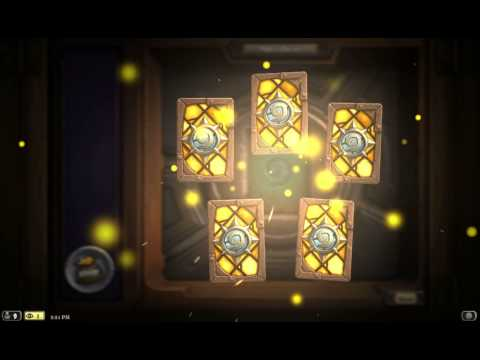 Classic Card Pack opened - Hearthstone