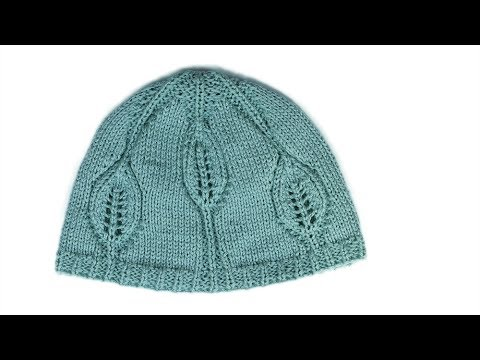 Knittng Baby hat Leafy Baby hat part 2 WIKA Crochet LIVE