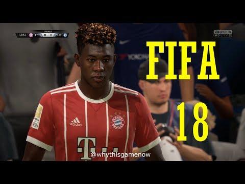 FIFA 18 | Bayern Munich vs Chelsea | 4K Gameplay | The Hindi Gamer