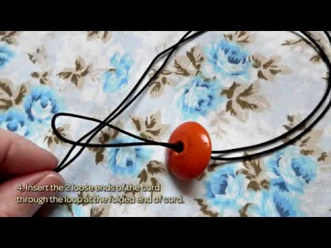 How To Make A Colourful Chunky Wooden Bead Necklace - DIY  Tutorial - Guidecentral