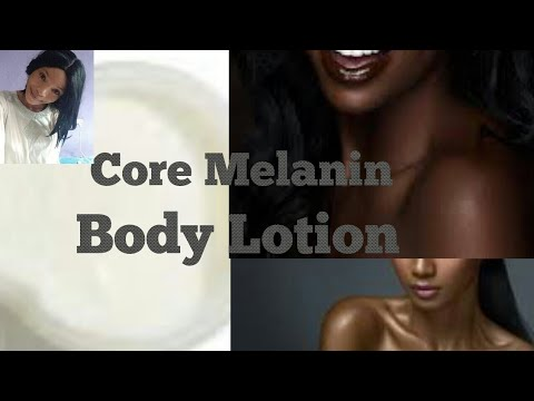 How To Make Natural Home Made Body Lotion | Chocolate Body Lotion | Melanin Skin On Fleek