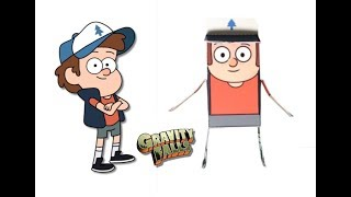 Gravity Falls  Characters as PaperCrafts