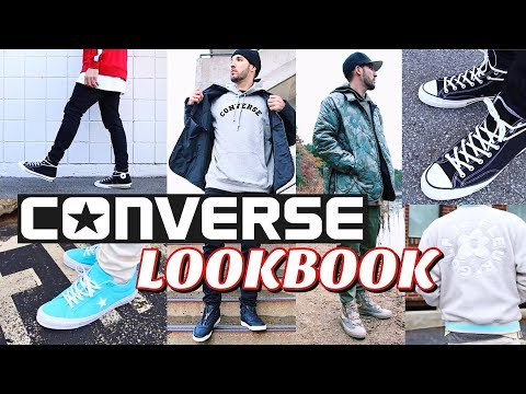 CONVERSE LOOKBOOK - How To Style Converse Sneakers - Chuck Taylor's - One Star's - Fast Break