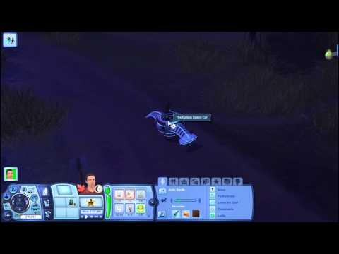 Sims 3 Seasons: alien abduction