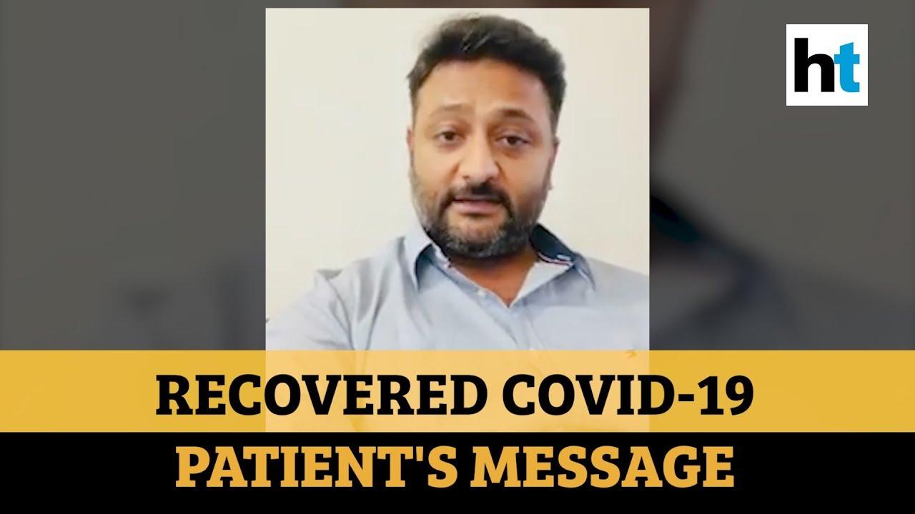 'Please, please, please...': Watch recovered Coronavirus patient's message