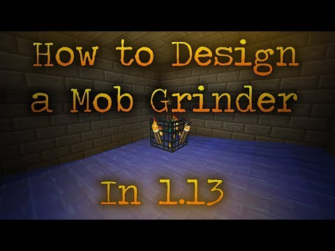 How to Design a Mob Grinder in 1.13