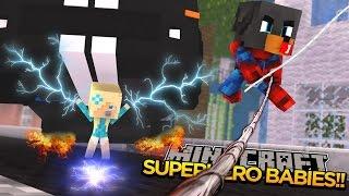 Minecraft - Donut the Dog Adventures -BABY MAX HAS SUPERHERO POWERS!!!!
