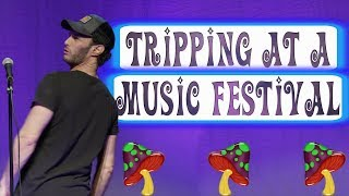 Tripping At A Music Festival