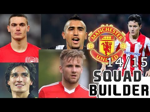 MANCHESTER UNITED 14/15 SQUAD BUILDER - FIFA 14 ULTIMATE TEAM