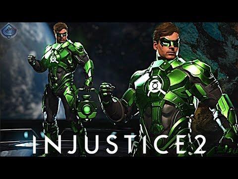Injustice 2 Online - NEW GREEN LANTERN EPIC GEAR!