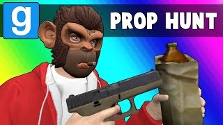 Gmod Prop Hunt Funny Moments - Drinking is Bad (Garry