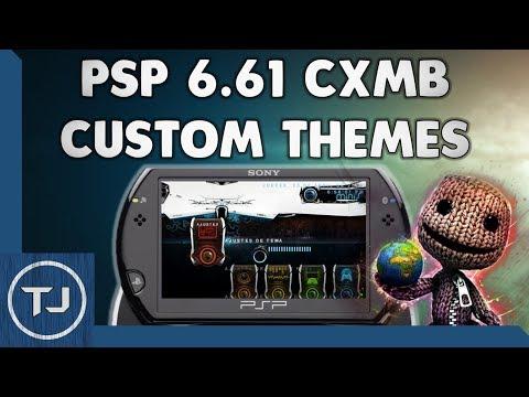 download psp 6.60 pro b10 ctf themes