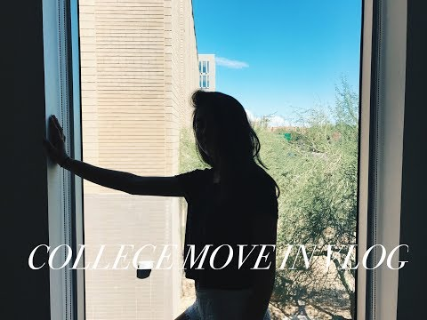 COLLEGE MOVE IN VLOG 2017 | Arizona State University