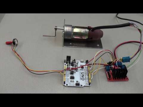 Arduino PID motor position and speed control