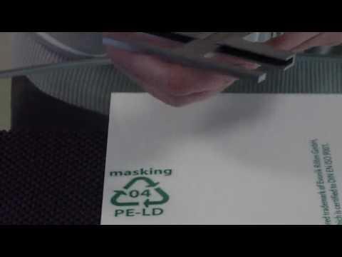 How to set precise marks on acrylic * Präzision-Punkte setzen auf Acrylglas