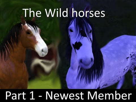 Wild Horses part 1 - Sims 3 Horse Story
