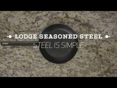 How to Clean Lodge Seasoned Steel