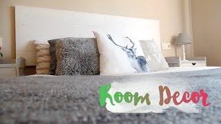 room decor i como hacer un cabecero de madera estilo nrdico i nordic style