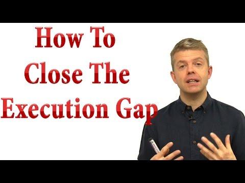 Execution gap