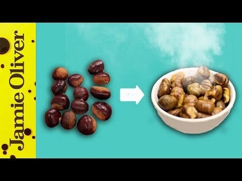 How to Roast Chestnuts in an Oven   1 Minute Tips