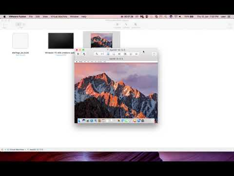 How to Install VMware Tools in a Mac OS X macOS Virtual Machine - 2019