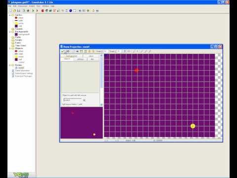 how to make a mouse shooting game on game maker 8.1 part 3
