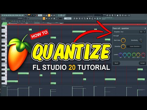 How to quantize notes in FL Studio