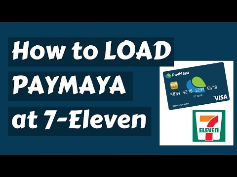 How to load Paymaya at 7 Eleven via CLiQQ Kiosk