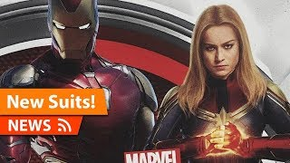 Download Avengers Endgame Iron Man & Captain Marvel NEW Suits Revealed Video