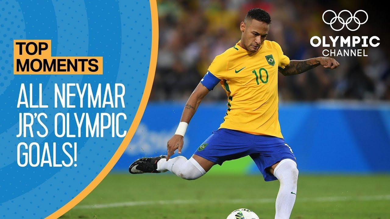 Neymar Jr.   All Olympic Goals!   Top Moments