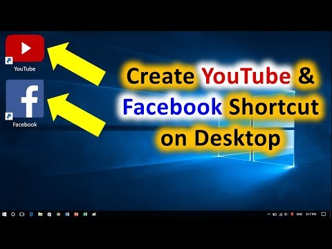How to Create YouTube Shortcut on Desktop