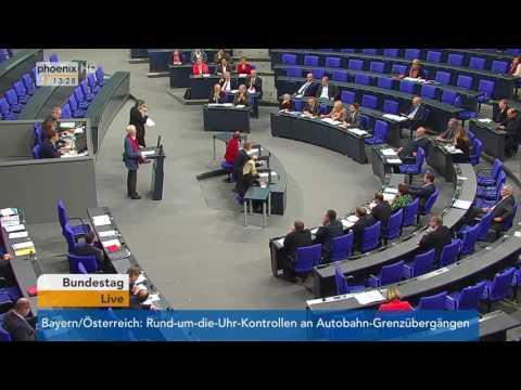 Bundestag: Aktuellen Stunde im Bundestag bezüglich des US-Drohnenkriegs über Ramstein am 15.12.2016